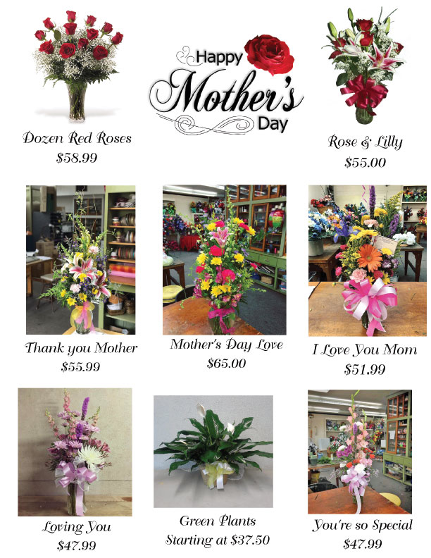 Mother's Day Flyer 2017